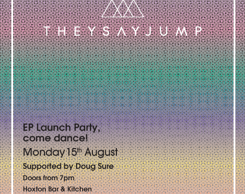 TSJ EP Launch Flyer